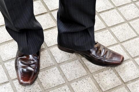 靴 ガム こびりついた